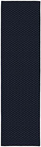 Garland Rug Medallion Rug Runner, 2' x 8', Navy (Runner Rugs Blue Kitchen)