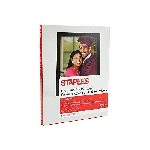 Staples Photo Plus Paper, 8 1/2
