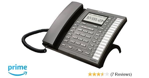 amazon com rca 4 line system phone 25403re3 corded telephones rh amazon com RCA ViSYS 25204 Manual Volume Setting RCA Telephones Executive Series