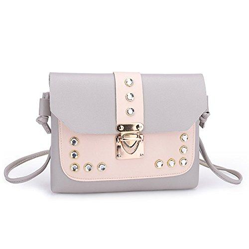 Respctful✿Women Crossbody Purse Bag PU Leather Fashion Shoulder Shoulder Bag for Women Stylish Ladies - Leather Shoulder Frame Bag