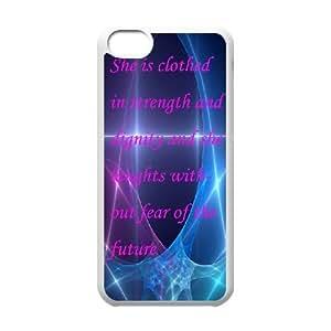 iPhone 5C Phone Cases Proverbs Quotations Back Design Phone Case BBTR9199416