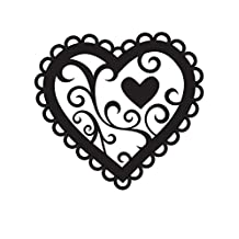 Darice Embossing Folder 4.25-Inchx5.75-Inch-Valentine Hearts