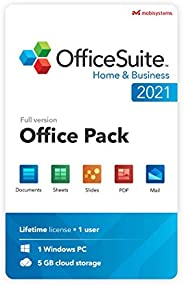 OfficeSuite Home & Business 2021 | Lifetime License | Compatible with Word®, Excel®, PowerPoint® & PDF
