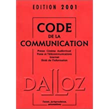 Code de la communication 2001