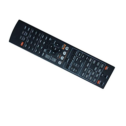 Easy Replacement Remote Control Fit for Yamaha RX-V667 RX-V673BL RX-V675BL RX-A800 RX-A700 AV A/V Receiver