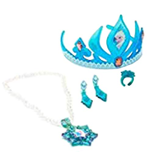 with Frozen Elsa Tiara Crowns design