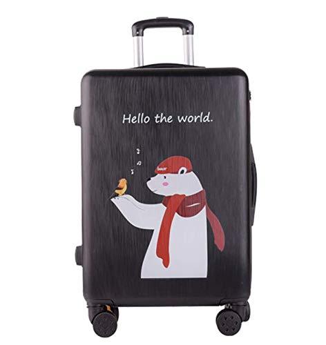 ユニバーサルホイールトロリーケースラゲッジスモールフレッシュスーツケース (Size : XL) B07MQTBTLY