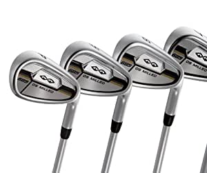 Snake Eyes 685 O/S Set 3-PW - Juego completo de palos de golf, color grafito, talla Stiff 3-PW