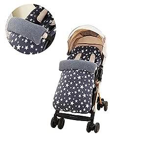 sillas de Paseo o cunas 90 40cm para cochecitos de beb/é Manta Envolvente beb/é Acolchada Saco de Dormir Unisex para Beb/és Reci/én Nacidos