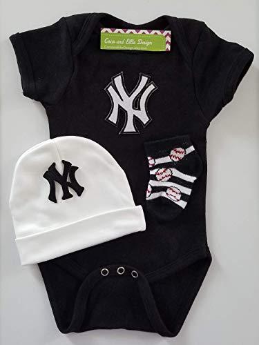 New York Yankees baby boy outfit/Yankees boy outfit/Yankees newborn boy/Yankees baby gift (Outfit Yankee)