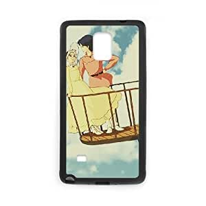 Samsung Galaxy Note 4 Cell Phone Case Black Howl's Moving Castle Q0285111