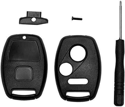 RDBS Smart Car Key Fob Keyless Shell Cover Case Entry Remote Fit for Honda Accord Crosstour 2010 2011 Odyssey 2011-2014 Fit 2009-2013 CR-Z 2011-2015 CR-V 2007-2013 Civic 2006-2011