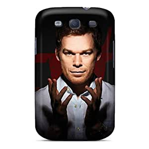 Icase88 Samsung Galaxy S3 Bumper Hard Cell-phone Case Custom Attractive Dexter Movie Wonderful Skin [OJJ1573cboU]