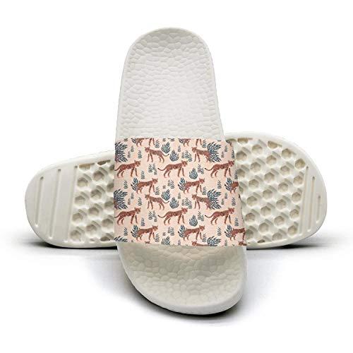 (AKDJDS Tropical Tiger Safari Walking Sandals Slippers for Men )