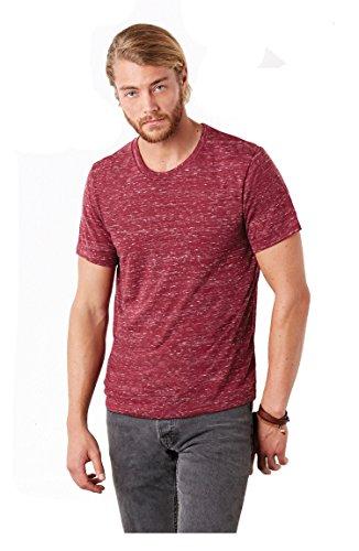 (BellaCanvas Unisex Polycotton Short Sleeve T-Shirt - 16 Col - White Marble - XL)