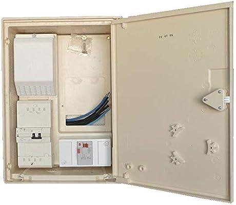KVA - Caja Contador de Obra trifásico 30/60A 18/36: Amazon.es: Electrónica