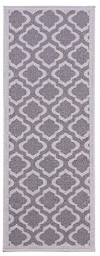 Diagona Contemporary Moroccan Non Slip Charcoal product image