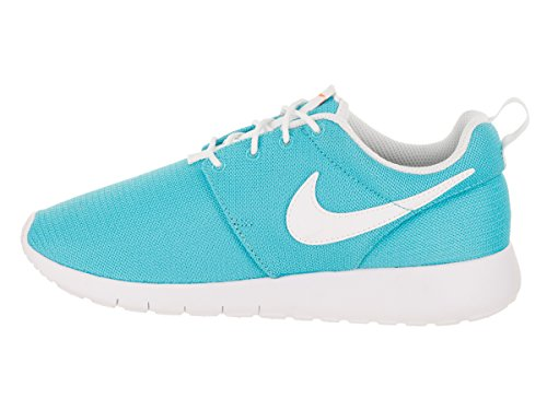 Nike Kids Roshe One (GS) Running Shoe Chlorine Blue/White tkYjz88TV