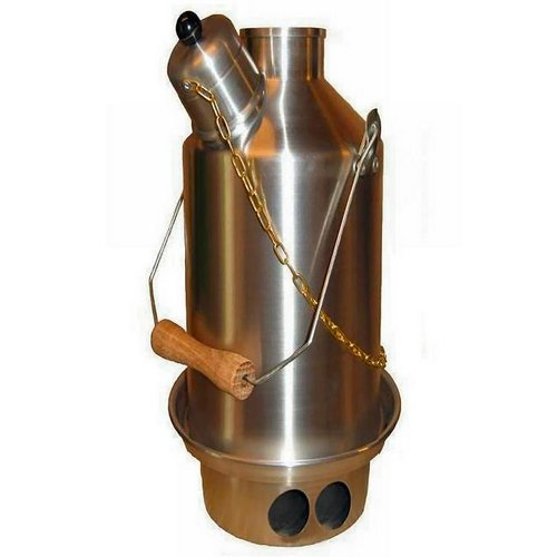 Ghille Maverick Lightweight Solid Fuel Stove Kettle 0.5 Litres Ghillie Kettle G-MAV 506015337589