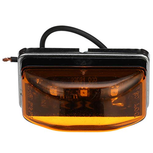 Seachoice 52561 LED Stud Mount Side Marker Light Amber