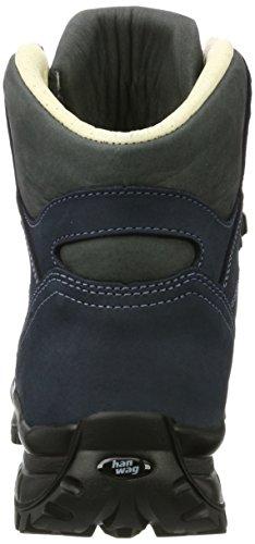 Hanwag Canyon, Zapatos de High Rise Senderismo Hombre Azul (Marine_navy)