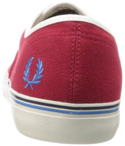 Fred Perry - Zapatillas para hombre Rojo rojo