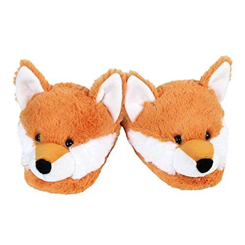 Fox Fuzzy Fox Slippers Fuzzy 1wqUHxU