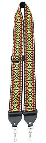 Perris Leathers TWSBJ-6689 Jacquard Banjo Straps by Perris Leathers