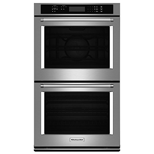 Kitchenaid 27″ Double Wall Oven With Even-heat True Convection (…