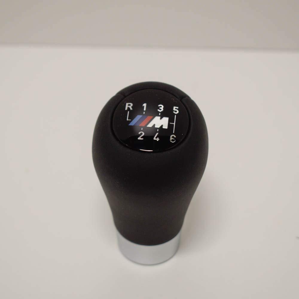 BMW M en cuir et bouton de levier de changement de vitesse Noir 25 896 886 7 11