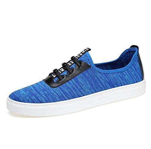 Zapatos eu39 Respirableentrenadores De 45 A Funcionamiento La Malla Swnx Eu43 Zapatillas Hombre Blue 38 Aptitud Cordones Tamaño RdBTnqw