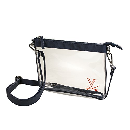 - Capri Designs Clear Small Crossbody Bag Stadium Approved - UVA Cavaliers