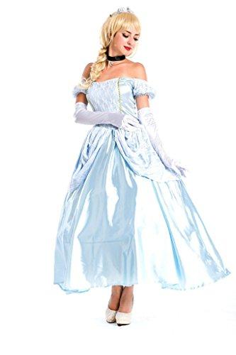 Generic Women's Cinderella Movie Lady Tremaine Prestige Costume (Lady Knight Costume)