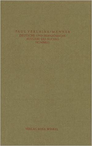 Paul Verlaine: Männer – Hombres; schwule Bücher alphabetisch nach Titeln