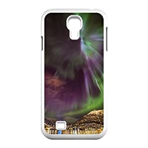 The Aurora Borealis Customized Cover Case with Hard Shell Protection for SamSung Galaxy S4 I9500 Case lxa#379820