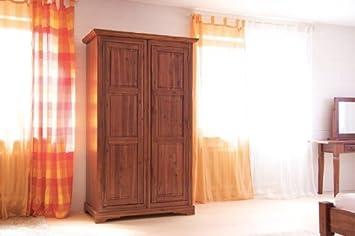 Kleiderschrank Siena Akazie Massiv Holz Moebel Schrank