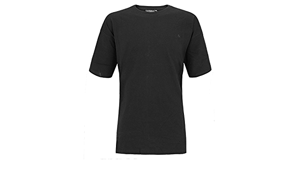 Camiseta básica Negra de Kitaro en Tallas XXL