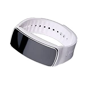 High Quality Fashion Multifunctional Bluetooth Waterproof Smartband Wristband For iOS And Android Smart Phone (white)