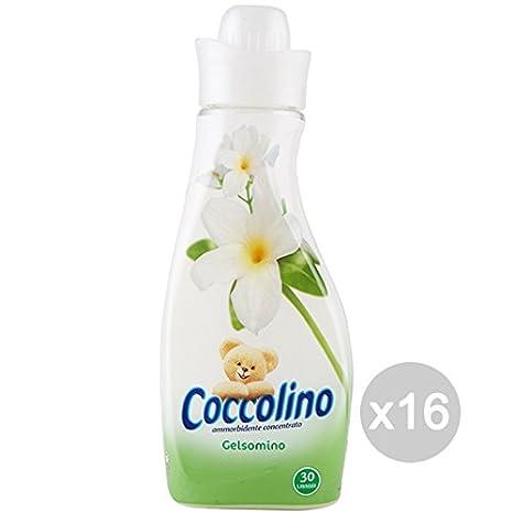 Set 16 COCCOLINO Suavizante 750 Conc Jasmine Creación Detergente ...