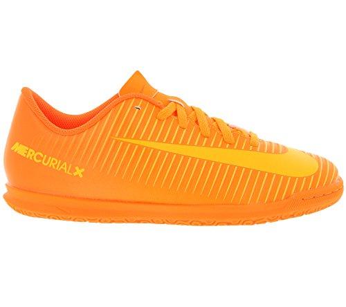 Nike Mercurialx Vortex III IC Zapatillas, Niños, Naranja, 36.5