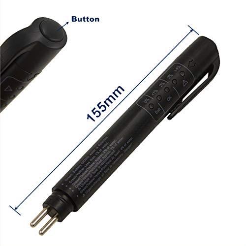 4 comprobador de l/íquido de Freno Abilieauty 5 indicador de Prueba de Agua y Humedad LED para Punto 3