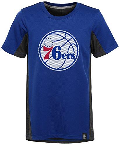 "NBA Kids & Youth Boys ""Assist Short Sleeve Shooter"" Tee Philadelphia 76ers-Blue-S(8)"