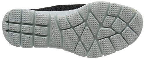 On Skechers 5 Sharp EU Black Sneaker Empire Thinking White 35 Slip Damen Navy Schwarz Xgg4wZq