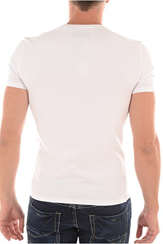Guess Herren T-Shirt weiß weiß