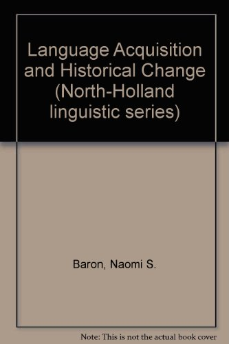 Language Acquisition and Historical Change
