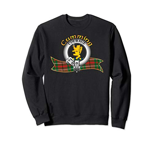 (Scottish Cumming Clan Tartan Crest