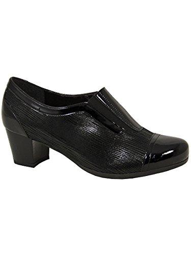 Size UK 4 Dubarry Court Marion Black Shoe wHWU17q