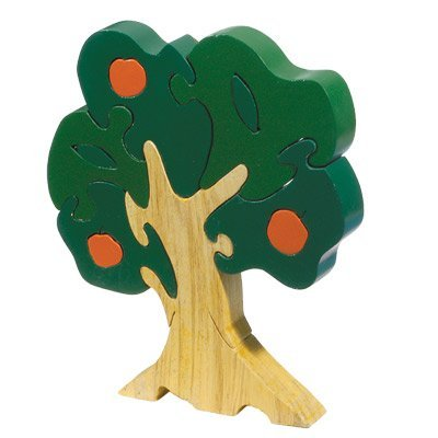 (Orange Tree Children's Wooden Puzzle)