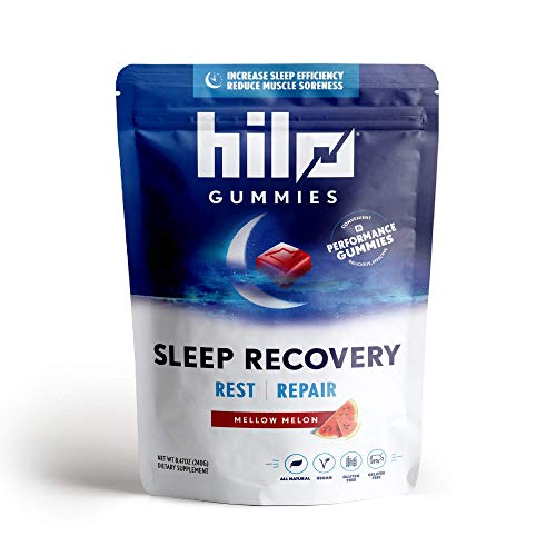 🥇 Hilo Sleep Recovery Gummies – All Natural Relaxation and Muscle Recovery Gummies with Melatonin