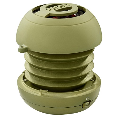 R.O.GNT Portable In-Line Wired MP3 Capsule Speaker for mobile Devices, Smartphone, iPhone and Tablet, Laptop, Notebook (Wired, Capsule) (Olive) by R.O.GNT (Image #4)